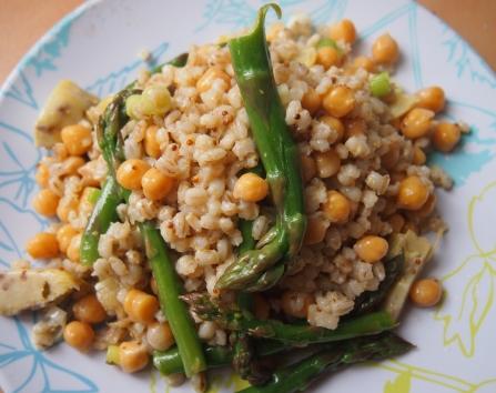 Barley salad main pic